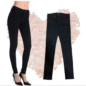 Size 30 Just Black High Rise Skinny Jeans